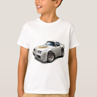T-shirt Voiture 1979-81 de blanc du transport AM