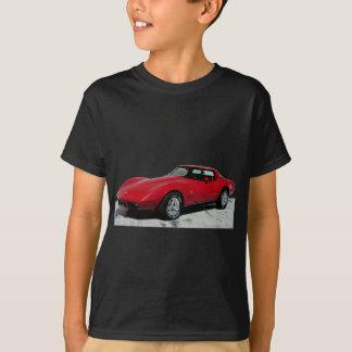 T-shirt Voiture 1979 classique rouge