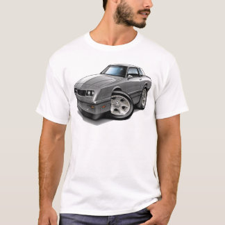 T-shirt Voiture 1983-88 de gris de Monte Carlo
