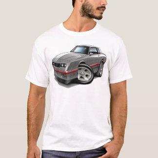 T-shirt Voiture 1983-88 Gris-Rouge de Monte Carlo