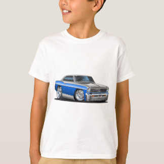 T-shirt Voiture Bleu-Grise de nova de Chevy