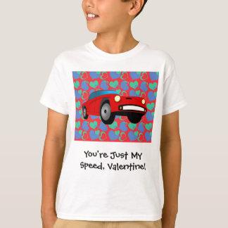T-shirt Voiture de course de Valentine