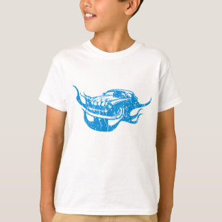 T-shirt Voiture de course vintage américaine de rue