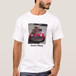 T-shirt Voiture de rouge de l'endroit de Juno
