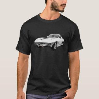 T-shirt Voiture de sport 1967 de Corvette : Finition