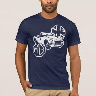 T-shirt Voiture de sport britannique classique de MG MGA