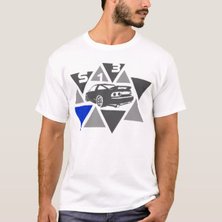 T-shirt Voiture de triangle - S13-