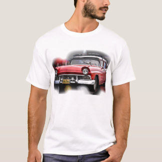 T-shirt voitures d'Américain des années 50