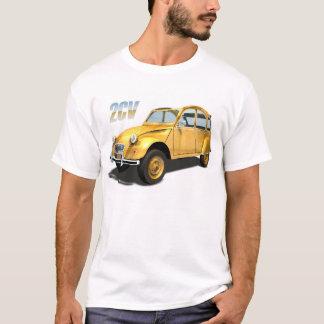 T-shirt Voitures de culte - Citroen 2cv