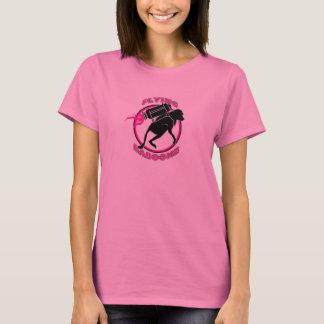 T-shirt Vol Baboonz - la longue douille des femmes