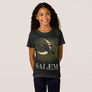T-Shirt Vol de sorcière de Salem le Massachusetts sur la