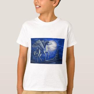 T-shirt Vol éclairé par la lune