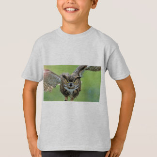 T-shirt Vol intense de hibou