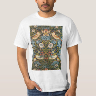 T-shirt Voleurs de fraise par William Morris, art vintage