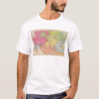 T-shirt Volkerkarte v Oesterreich Ungarn, Autriche Hongrie