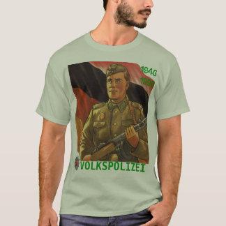 T-SHIRT VOLKSPOLIZEI RDA 1946-1990