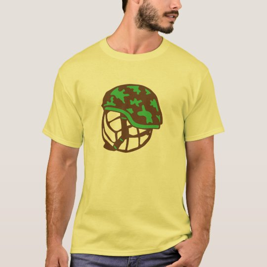 T-shirt volleyball waterpolo casque militaire