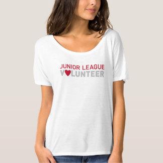 T-shirt volontaire d'ami de JLSJ