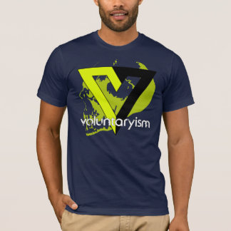 T-shirt Voluntaryist de non-aggression