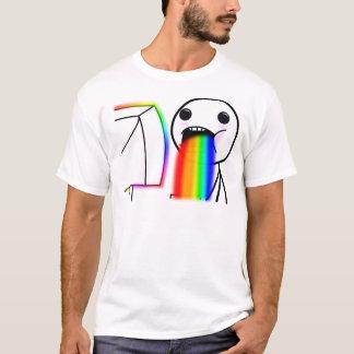 T-shirt Vomit des arcs-en-ciel