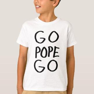 T-shirt vont le pape vont