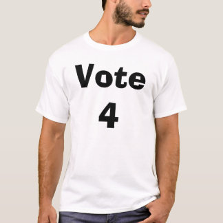 T-shirt Vote 4 (nom d'insertion)