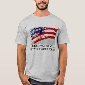 T-shirt Vote conservateur