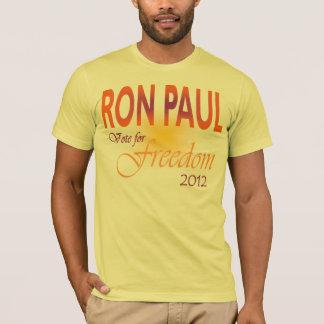 T-shirt Vote de Ron Paul pour la liberté multi