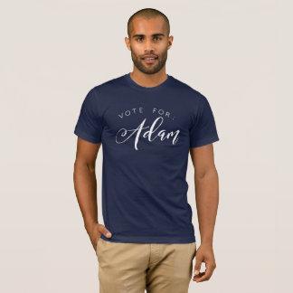 T-shirt Vote pour : Adam