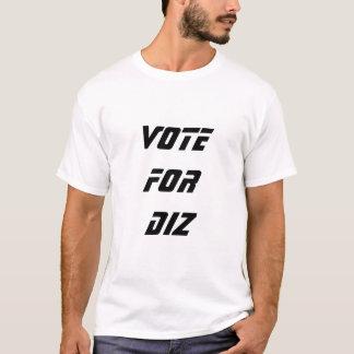 T-shirt Vote pour Diz
