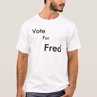 T-shirt Vote pour Fred youtube