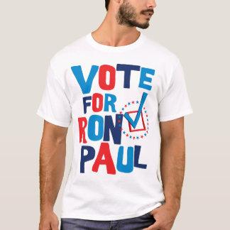 T-shirt Vote pour l'élection 2012 de Ron Paul