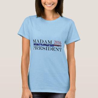 T-shirt Vote pour Madame président en 2016