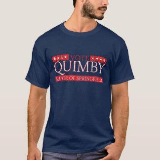 T-shirt Vote pour maire Quimby