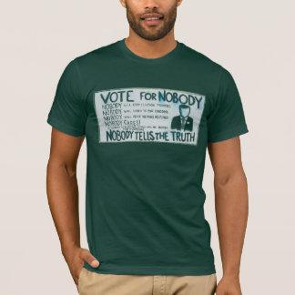 T-shirt Vote pour personne pièce en t américaine de Forest