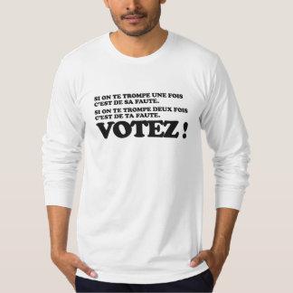 T-shirt Votez ! Election presidentielle 2012