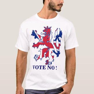 T-shirt Votez non à l'indépendance écossaise