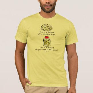 T-shirt Votre cerveau à l'école de Med