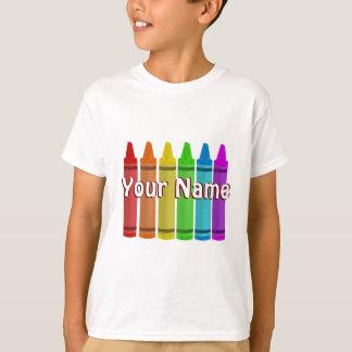 T-shirt Votre nom sur un modèle de chemise