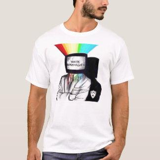 T-shirt Votre soumis à un lavage de cerveau