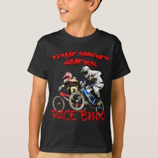 T-shirt Votre sport suce ! Course BMX