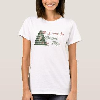 T-shirt Voulez mon soldat pour Noël
