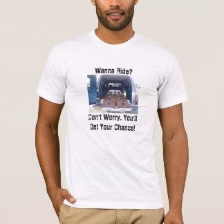 T-shirt Voulez monter, habillement américain d'if funèbre
