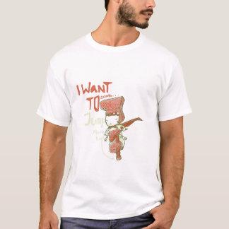 T-shirt Voulez sauter