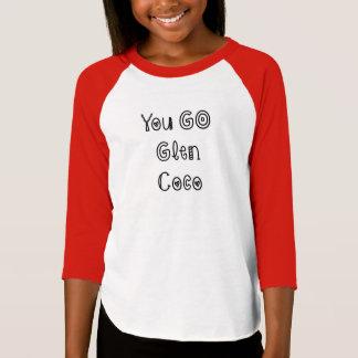 T-shirt Vous allez des Cocos de gorge - dessus américain