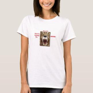T-shirt Vous allez m'entendre HURLER la taille S de