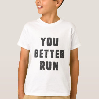 T-shirt Vous améliorez la course