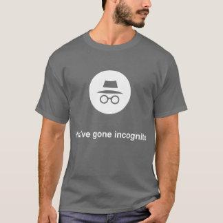 T-shirt Vous avez le chrome incognito allé de Google