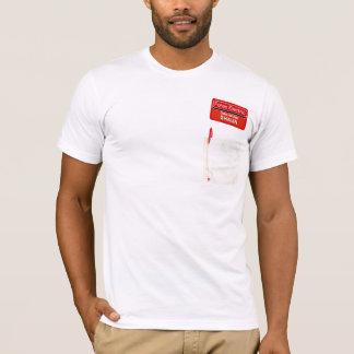 T-shirt Vous avez obtenu le rouge sur vous