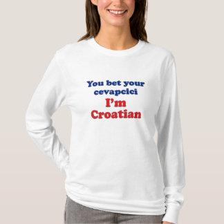 T-shirt Vous avez parié votre Cevapcici (saucisse)…